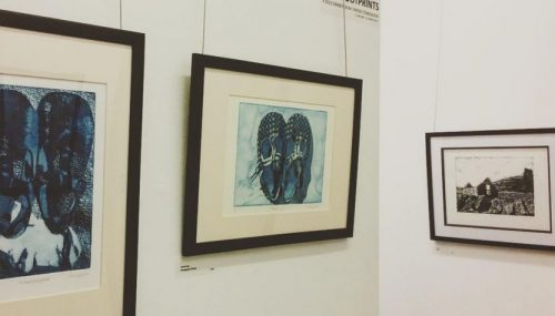 FOOTPRINTS – Solo exhibition by Chrissy Stangroom