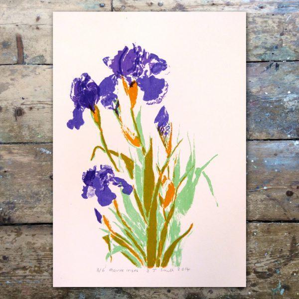 Barabara Smith-Mauve Irises1