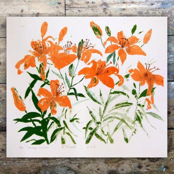 Barabara Smith-Orange Lillies1