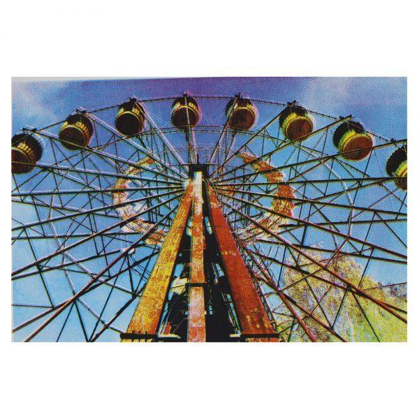 Ferris wheel at Pripyat-full