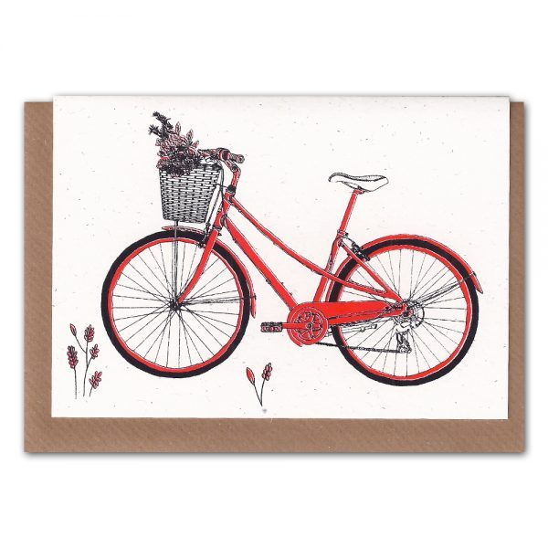 Inkidot-Red Bicycle