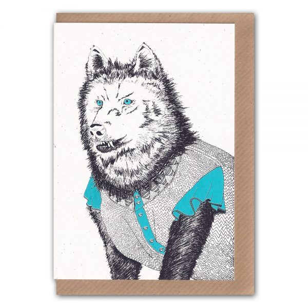 Inkidot-The Wolf