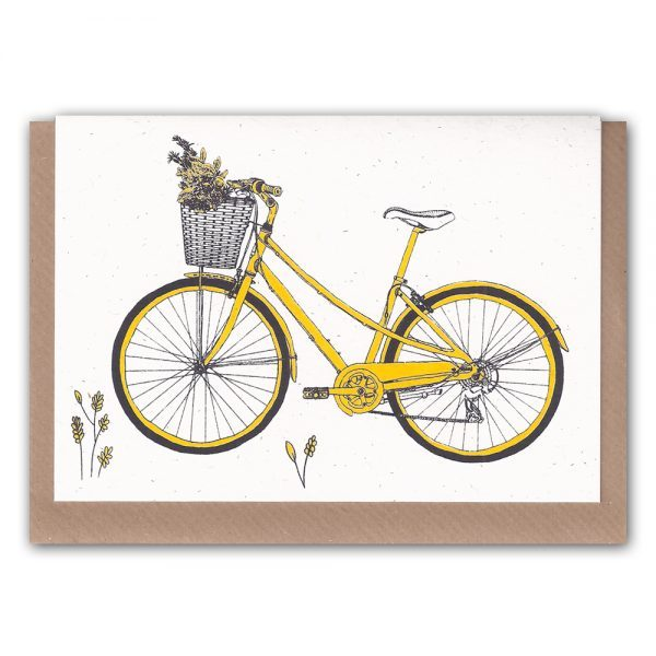 Inkidot-Yellow Bicycle
