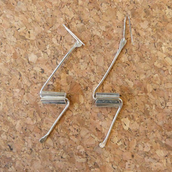 Silver Earrings1