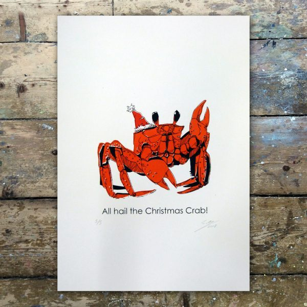 StevenAllen-All Hail the Christmas Crab1