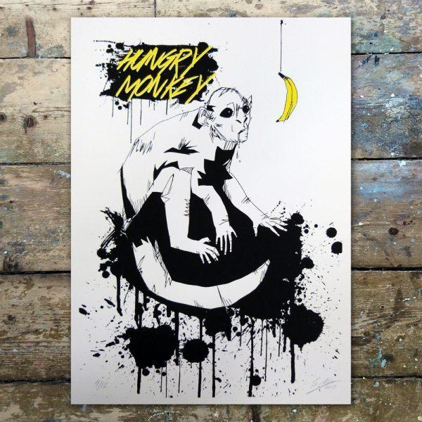 StevenAllen-Hungry Monkey1