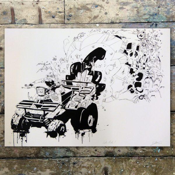 StevenAllen-Let's Ride1
