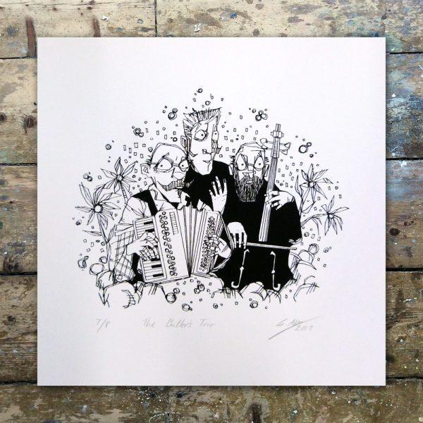 StevenAllen-The Butler's Trio1