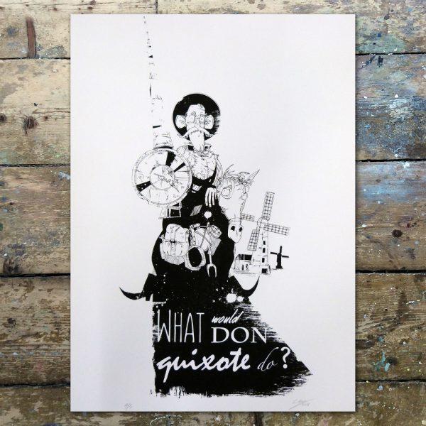 StevenAllen-What would Don Quixote do1