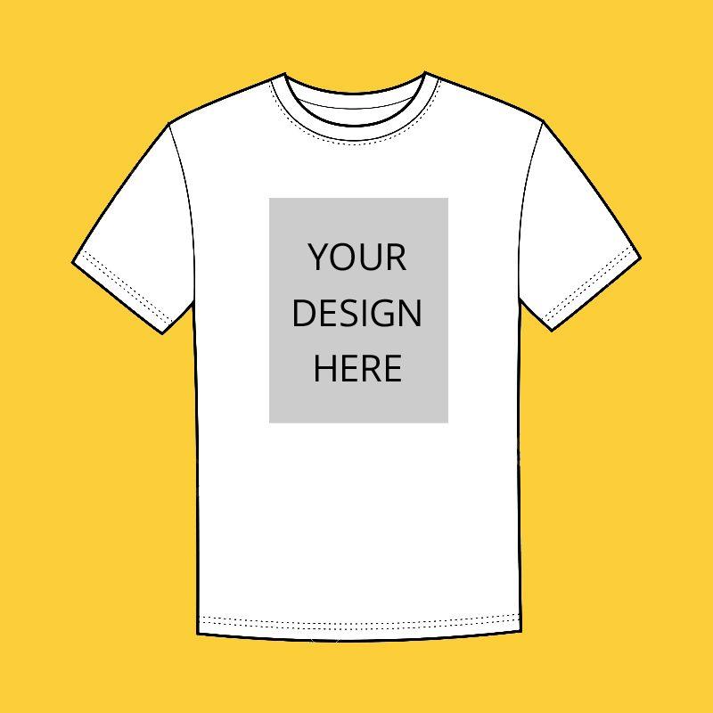 T-shirt - Front - Center A4