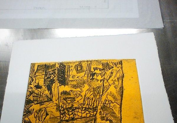 drypoint colour
